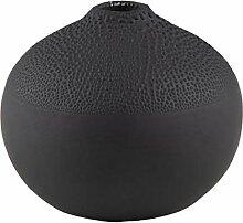 Räder Perlenvase Design 1A, schwarz