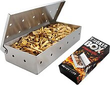 Räucherbox für BBQ Grill Holzspäne mit