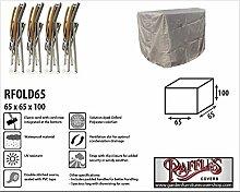 Raffles Covers RFOLD65 Schutzhülle für 3 Oder 4