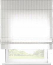 Raffrollo Padva, weiß, 80 × 170 cm, Leinen