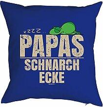 rag-das Papa Geschenkidee Kissen mit Füllung