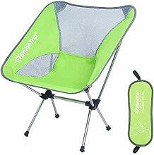 ragbare Camping Stuhl Beweglicher kampierender