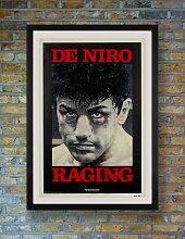 Raging Bull Filmposter von Kunio Hagio, 1980