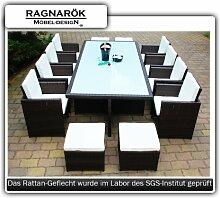 Ragnarök-Möbeldesign PolyRattan Essgruppe