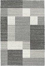 Ragolle Webteppich Mehari 23008 | grau - 120 x 170