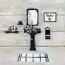 Rahmen-Kunst Keilrahmen-Bild - Sally Swatland: