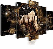 Rahmen Leinwand Fotodruck Buddha Poster und