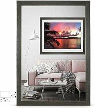rahmengalerie24 Bilderrahmen 40x40 cm Rahmen