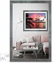 rahmengalerie24 Bilderrahmen 48x68 cm Rahmen Beton