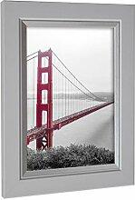 Rahmengalerie24 Bilderrahmen 50x75 cm Farbe: Weiß