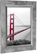Rahmengalerie24 Bilderrahmen 60x60 cm Farbe: Weiß