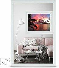 rahmengalerie24 Bilderrahmen 60x60 cm Rahmen Birke