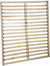 Rahmenlattenrost für Doppelbett - Liegefläche: