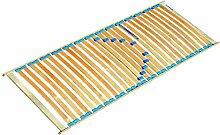 Rahmenlattenrost für Einzelbett - Liegefläche: 120 x 200 cm (B x L)