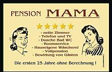 RAHMENLOS 205 Matte: Pension Mama