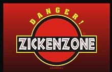 RAHMENLOS 207 Matte: Zickenzone