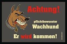 RAHMENLOS 209 Matte: Wachhund