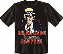 Rahmenlos Fun-T-Shirt: Du du und du b -