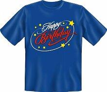 Rahmenlos Fun-T-Shirt: Happy Birthday -