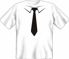 Rahmenlos Fun-T-Shirt: Krawatte schwarz -