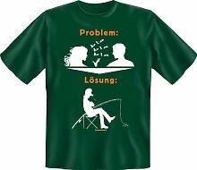 Rahmenlos Fun-T-Shirt: Problem Angeln -