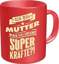 Rahmenlos Kaffeebecher mit witzigem Spruch für