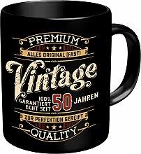 Rahmenlos Kaffeebecher zum 50. Geburtstag