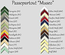 RahmenMax Passepartout MUSEO bis 80,0 x 120,0 cm
