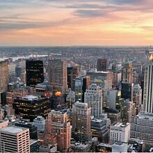 RAHMENUHR NEW YORK OC005 MANIE