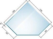 raik B40001 Raik Kamin Glasplatte Diamant 2 inkl.