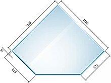 raik B40002 Raik Kamin Glasplatte Diamant inkl.