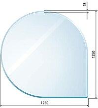 raik B40007 Raik Kamin Glasplatte Tropfen 2 inkl.