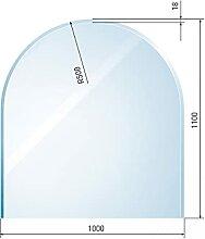 raik B40011 Raik Kamin Glasplatte Zunge 3 inkl.