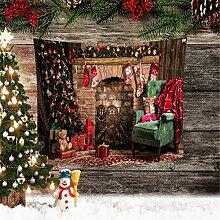 RAILONCH Wandbehang Wandteppich Weihnachten