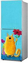 RAIN QUEEN Kühlschrank Kleiderschrank Geschirrspüler Aufkleber Dekor Folie Klebefolie Front Sticker bunt Bild (B#)