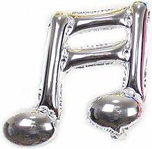 rainbabe Folienballon W900Note von Musik Geburtstag Ornament Dekoration Haus