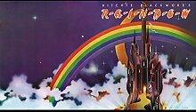 Rainbow 3 Great Rock Metal-Album Cover, Musik-Band-Motiv mit Bilderrahmen, für A4