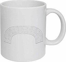 Rainbow' Ceramic Mug/Travel Coffee Mug