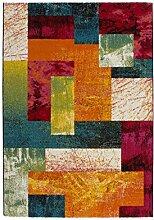 Rainbow Flachflor Teppich Modern Graphic Carpet