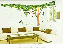 Rainbow Fox groß, Rosa Sakura Blume Cherry Blossom Tree Wandaufkleber Aufkleber PVC Abnehmbare Wand Aufkleber für Kinderzimmer Mädchen und Jungen Kinder Schlafzimmer, XY1098, Large
