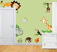Rainbow Fox Wandaufkleber Tiere/Zoo, für