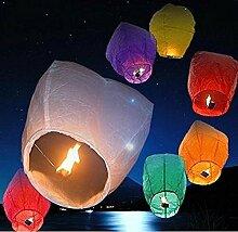 Rainbow Love Bunte chinesische Himmelslaternen,