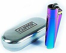 Rainbow Metall ciliper Feuerzeug