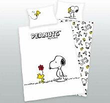 rainbowFUN.de Herding Baby Bettwäsche, Snoopy