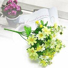 rainbowhh Künstliche Blume Seide Chrysantheme