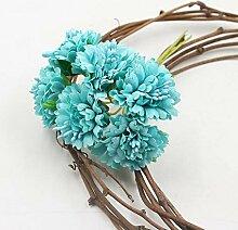rainbowhh Künstliche Blumen Chrysantheme für