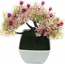 rainbowhh Künstliche Blumen Kunststoff Rosen
