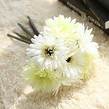 rainbowhh Wohnkultur Künstliche Blume New Gerbera