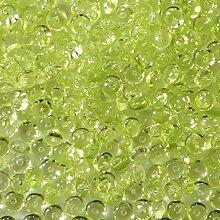 Raindrops Grün 200g ✓ grüne Tautropfen ca. Ø 5 - 6 mm ✓ Granulat / Dekogranulat aus Acryl ✓ Dekosteine als Streudeko für verschiedene Anlässe (Hochzeit, Taufe, Geburtstag, usw.) ✓ herrliche Tischdeko / Tischdekoration ✓ zum Befüllen von Glasgefäßen (Vasen, Gläser, Windlichter, uvm.) ✓ tolle Deko-Idee ✓ transparente Raindrops für schöne Dekorationsarbeiten | trendmarkt24 - 92251106
