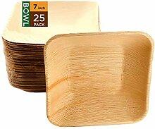 Raj Einweg-Palmblatt-Schalen robust und